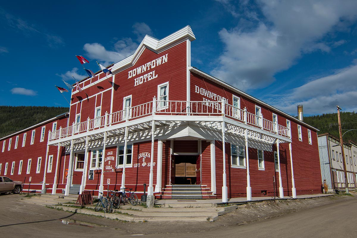 Image result for downtown hotel Dawson City Hotel & Restaurant